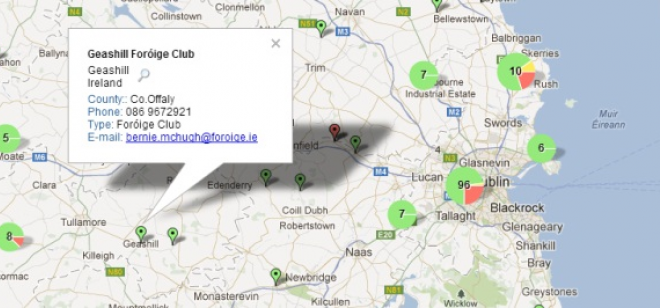 Interactive Map Of Ireland For Kids.Foroige For Young People Foroige Clubs